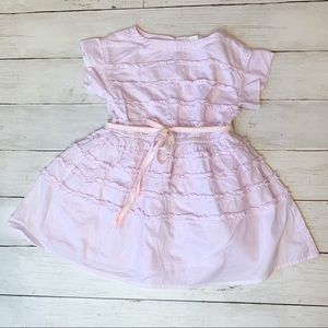Crewcuts ruffle dress // kids
